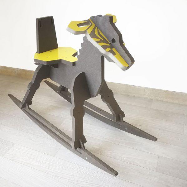 chaise zèbre